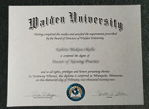 Where can I buy realistic Walden University diploma?