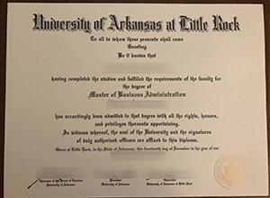 UALR diploma