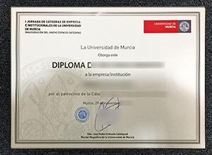 Universidad De Murcia Diploma