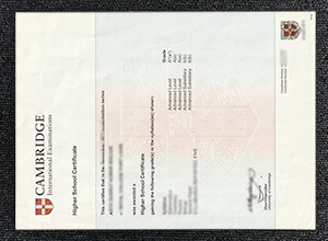 How To Get Fake Cambridge Higher School Certificate Online
