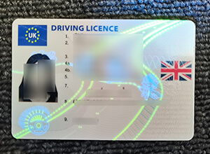 How to order a UK driver's license | A driver's license without a test