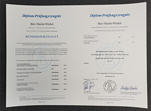 Copy a HFH transcript, Buy Hamburger Fern-Hochschule Fake Transcript