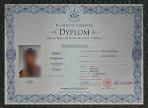 How to get a fake University of Warsaw diploma in Poland?