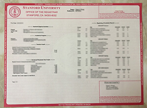 Buy A Fake Stanford University Diploma With Transcript
