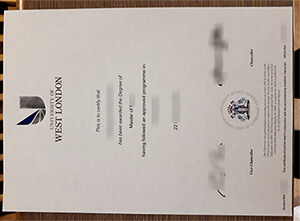 How to Create University of West London (UWL) Fake degree?