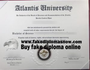 Atlantis University Diploma