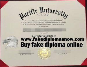 Pacific University diploma, Pacific University degree, fake Pacific University diploma certificate