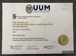 fake UUM diploma
