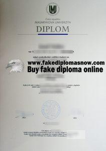 Masaryk University fake diploma