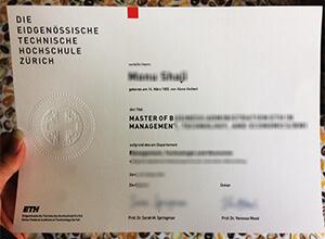 ETH Zurich certificate, ETH Zurich fake diploma, ETH Zurich fake degree