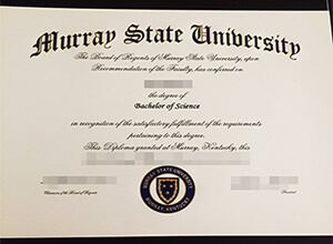Murray State University diploma, fake MSU degree