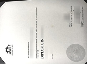 LaSalle College of the Arts fake diploma