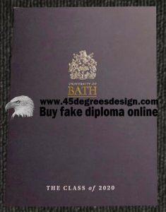 University of Bath Diploma Cover, Buy UK degree online