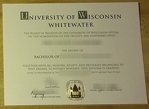 How to purchase a fake UW–Whitewater diploma?