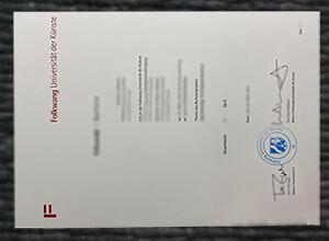 Where can I buy Folkwang Universität der Künste fake diploma?