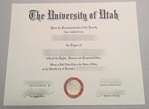 Where can I get a realistic University of Utah (U of U) diploma?