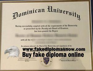 Dominican University diploma
