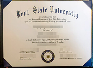 How much to buy a fake Kent State University (KSU) degree online?