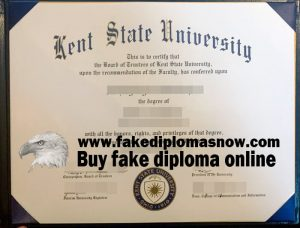 Kent State University diploma, KSU diploma