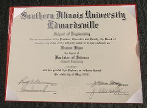 SIUE diploma, SIUE degree