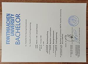 Rwth Aachen University Diploma, fake Rwth Aachen University degree,