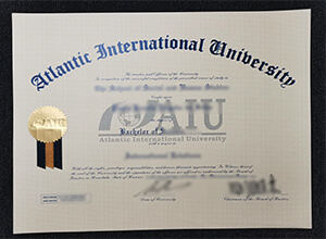Atlantic International University fake diploma, AIU fake degree
