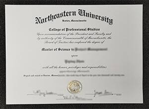 fake Northeastern University degree, Phony Northeastern University diploma