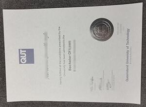 QUT Fake degree, Queensland University of Technology fake diploma