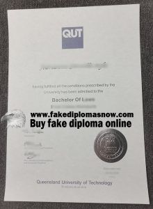 QUT Fake degree, Queensland University of Technology fake degree