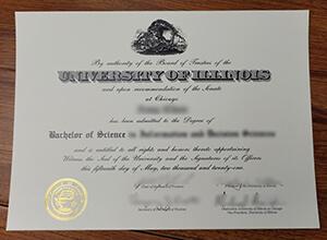 phony University of Illinois Chicago diploma, fake UCI certificate, UCI degree
