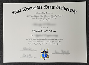 ETSU diploma , fake ETSU degree