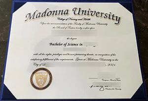 Madonna University diploma, Madonna University fake degree, Buy fake diploma online