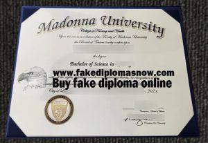 Madonna University fake diploma, Madonna University degree, Buy fake USA diploma online