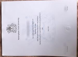 Nottingham Trent University fake diploma, NTU degree, Buy fake UK diploma online