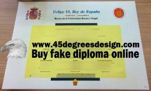University of Rovira i Virgili Diploma
